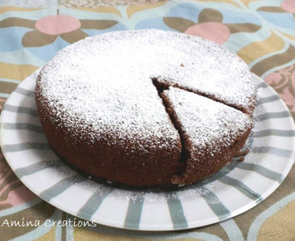 HEALTHY WHEAT FLOUR AND CHOCOLATE CAKE