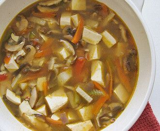 Hot and Sour Soup, Vegetarian  素酸辣汤