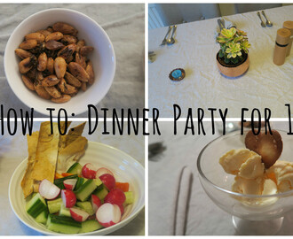 How to: Dinner Party for 10