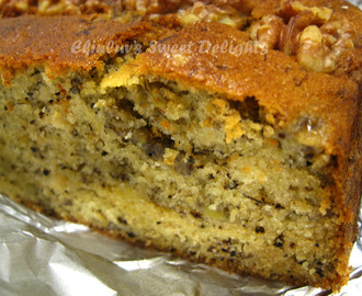 Ultra Soft - Walnut Banana Cake