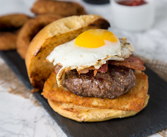 2am Breakfast Burger