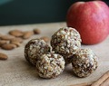 Salted Caramel Apple Pie Balls