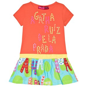 Agatha Ruiz de la Prada Printed Klänning Orange 12 years