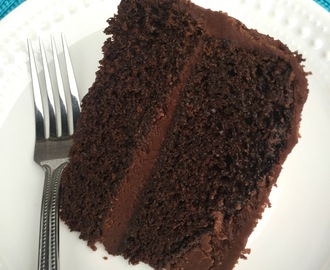 Ultimate {Most Moist} Chocolate Cake you will EVER have! And Chocolate Buttercream Frosting