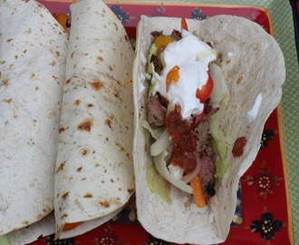 Grilled London Broil Steak Tacos / #SundaySupper
