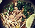 Recipe #328:  Quick Chicken Noodle Pho