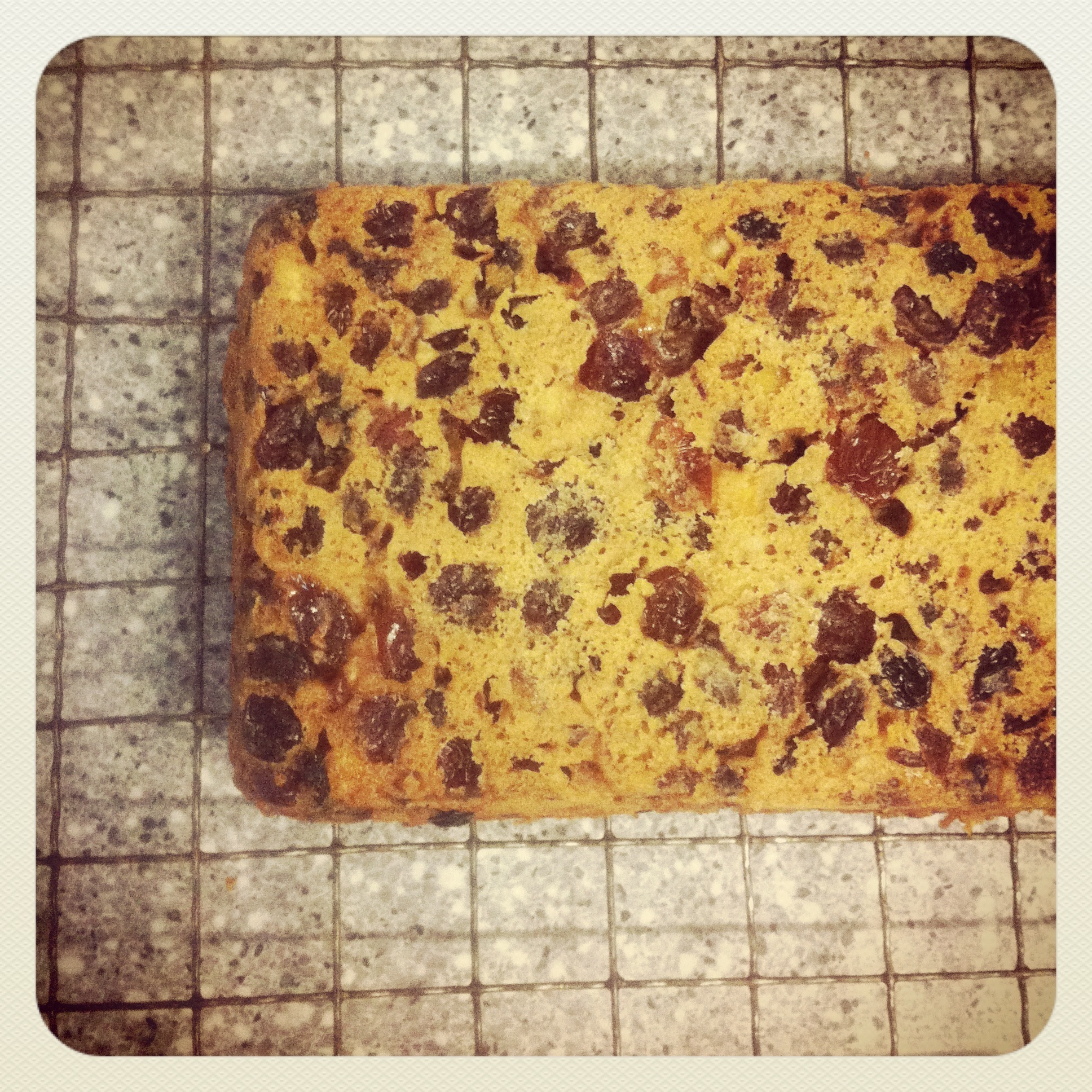 A little late, but Sugar Free, Fat Free, Easy Fruitcake.