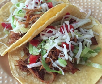 Slow Cooker Spicy Shredded Beef Tacos