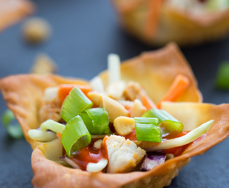 2 Easy Wonton Cup Appetizers to Try This Summer