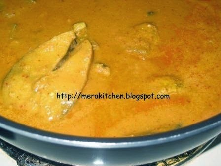 Fish Curry - Coconut Gravy