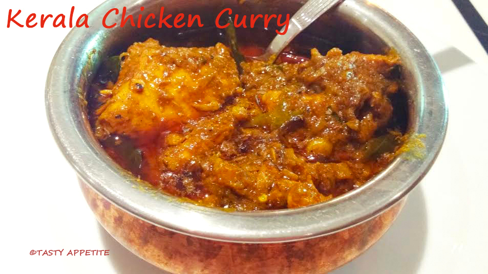 Kerala Chicken Curry / Nadan Kozhi Curry / Spicy Chicken Curry Recipe
