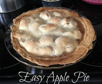 Easy Apple Pie #Dessert
