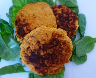 Savoury Cheesy Pumpkin Patties