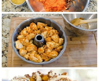 Carrot Cake Monkey Bread