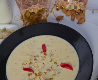 Kesari Rice Kheer Recipe, How to make Chawal ki Kheer | Saffron Flavored Rice Pudding