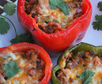 Stuffed Peppers- Ground Beef Stuffed Peppers