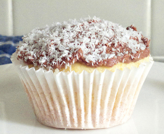 Lamington Cupcakes for Australia Day