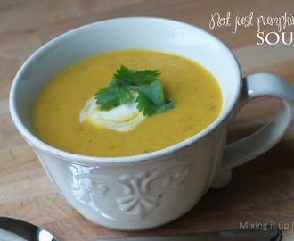 Not just pumpkin soup!