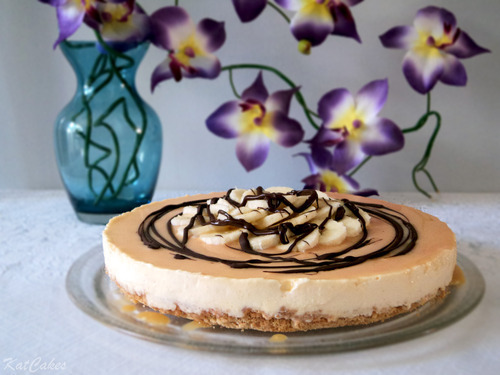 Banoffee Cheesecake with Chocolate