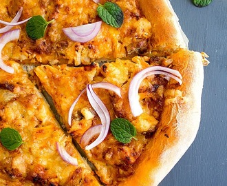 Butter Chicken Pizza | Video