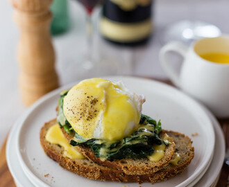 Eggs Florentine, but not from Florence!
