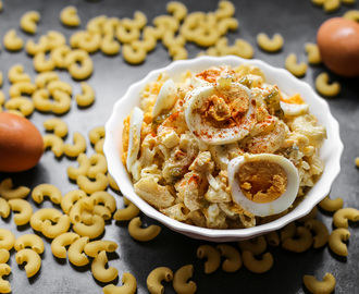 Devilled Egg Macaroni Salad