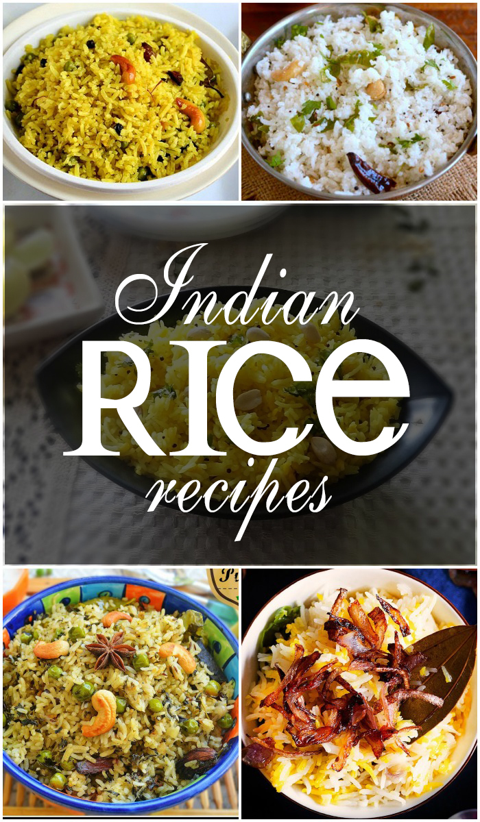 20 Popular Indian Rice Recipes
