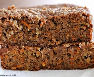 Moist Apple Carrot Bread
