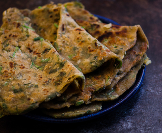 GMT: Methi Parantha/Paratha (Fenugreek Flatbread)