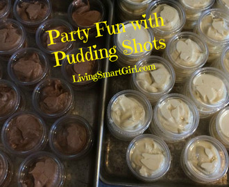 Party Fun with Pudding Shots