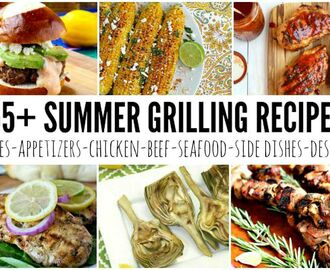 55+ Grilling Recipes