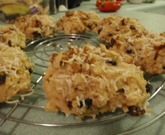 Coconut Ginger Rock Cakes