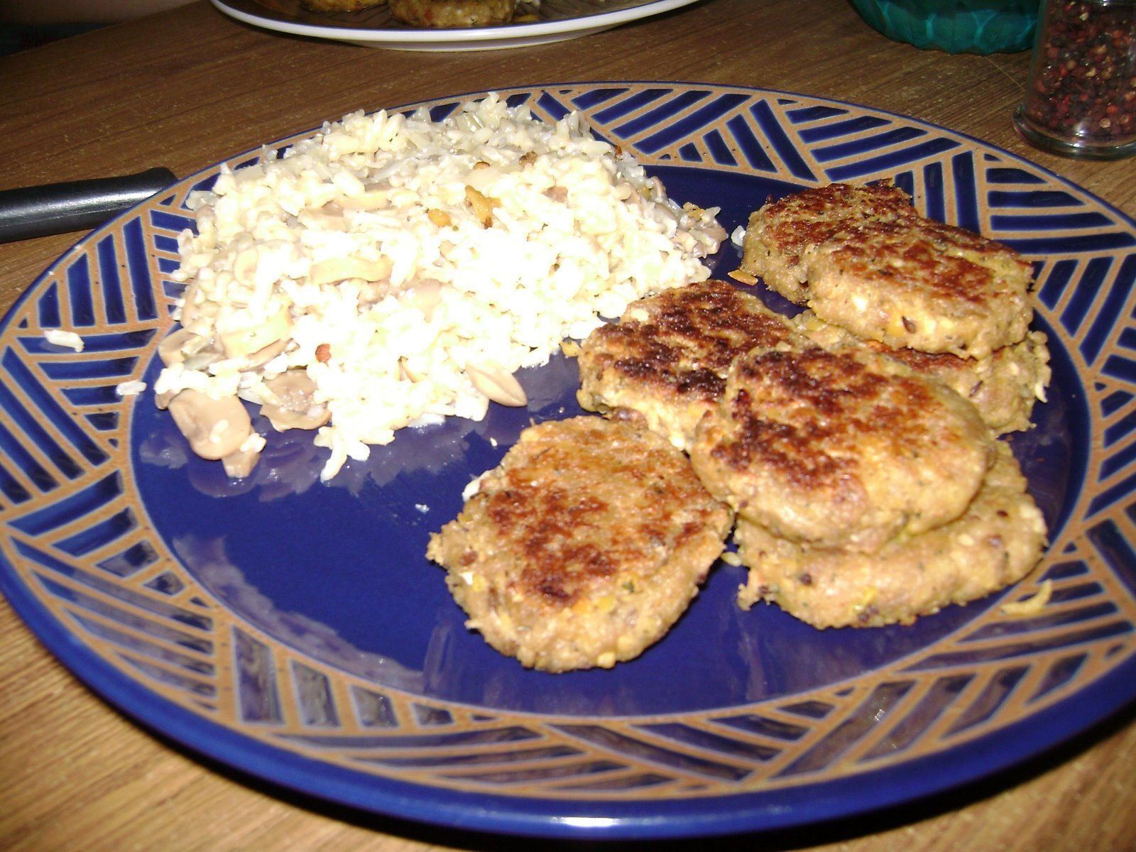 Chickpea Cutlets, two ways