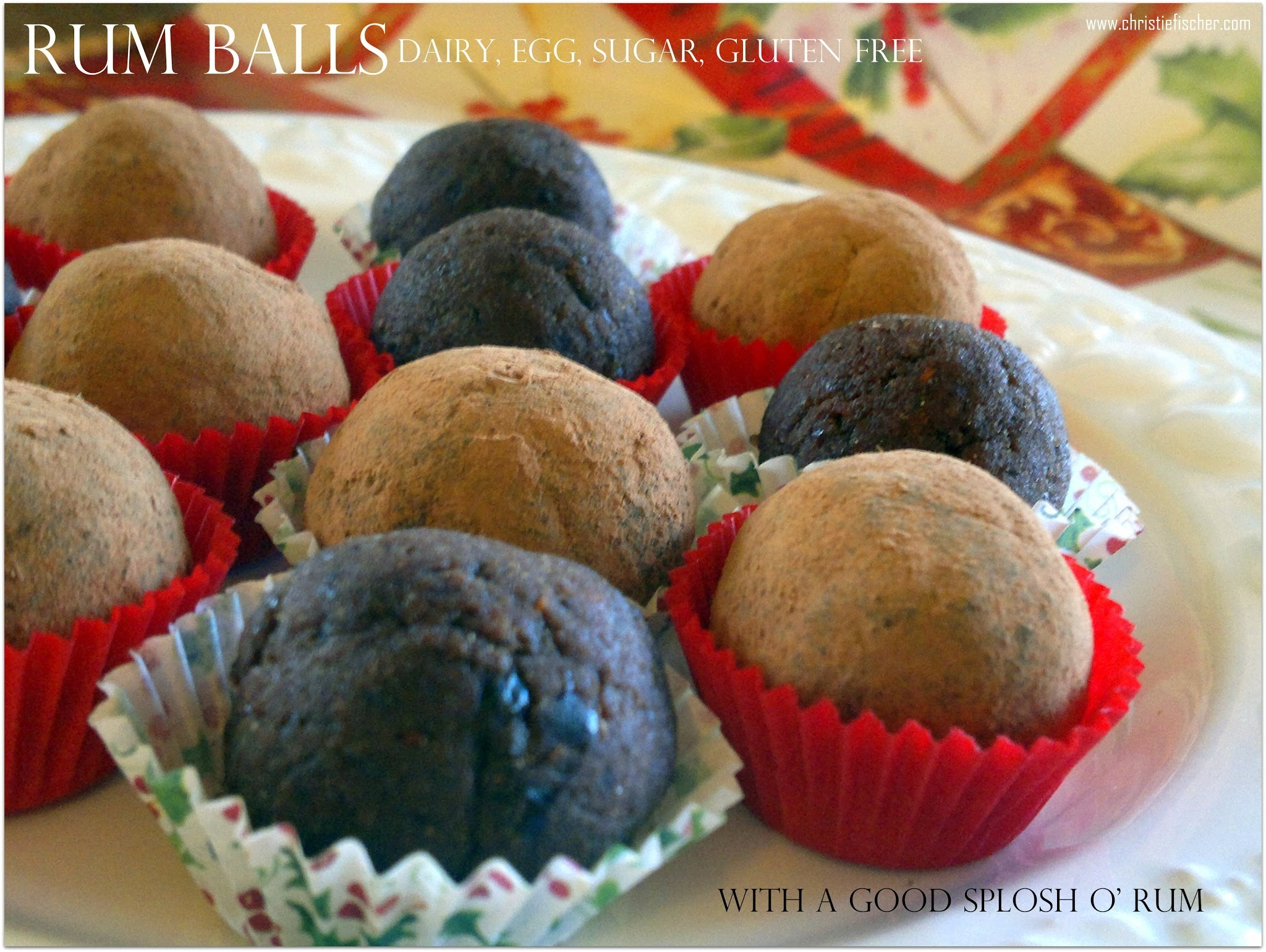 Fancy a Rum Ball? Oh Yes please!