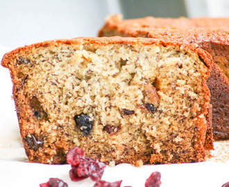 Banana Berry Bread  #SundaySupper