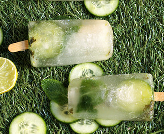 Basil, Lime & Mint Mojito Icy Poles