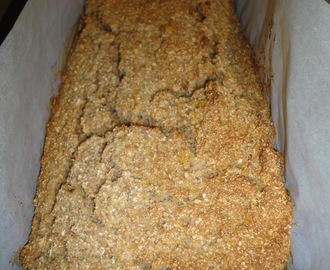 Okara Apple Banana Loaf