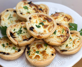 Red Onion & Feta Tarts