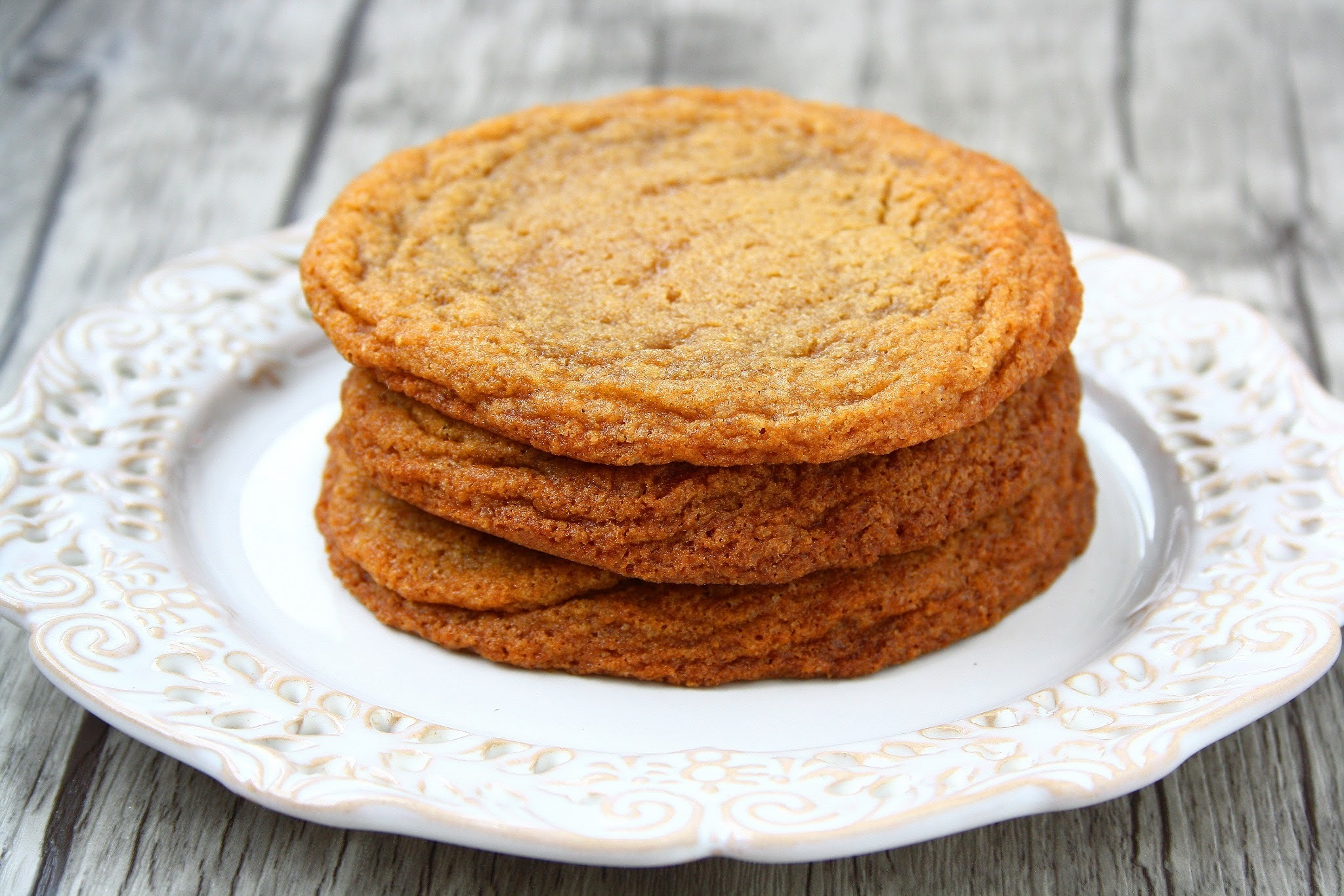 Soft and Chewy Dark Brown Sugar Cookies