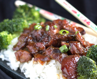 Slow Cooker Honey Soy Glazed Chicken