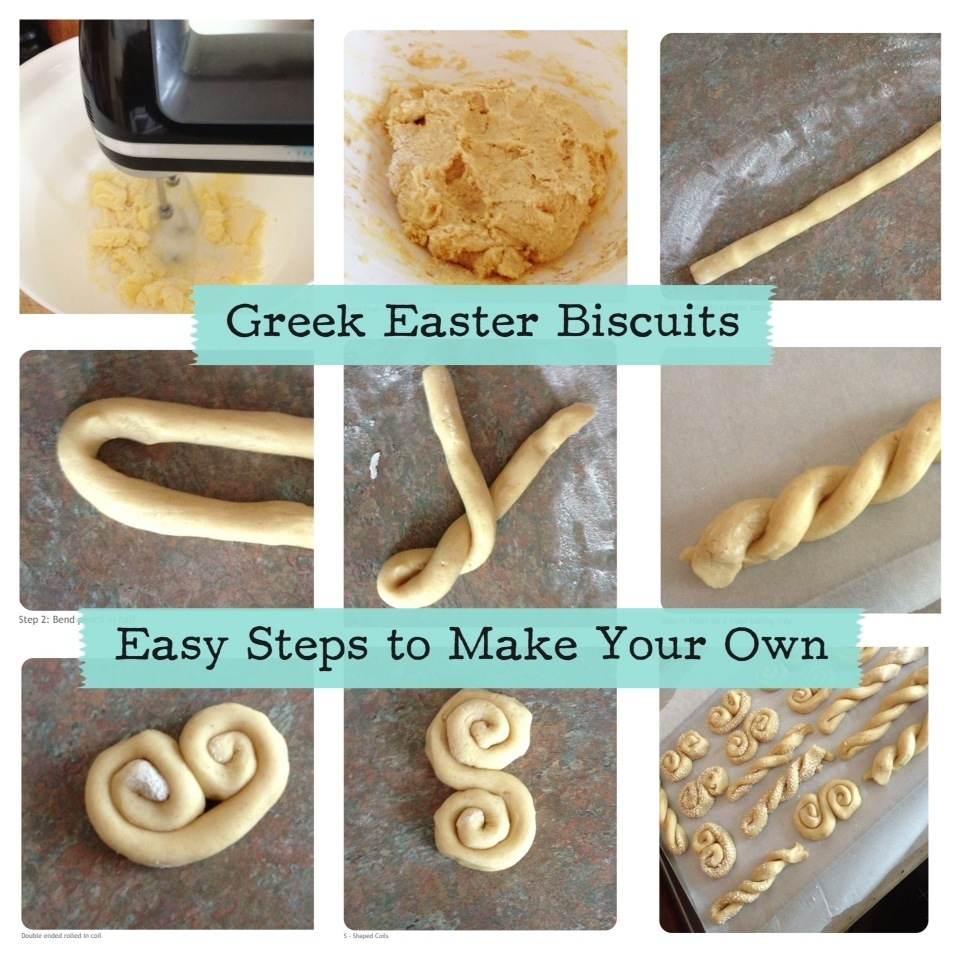 GREEK EASTER BISCUITS JUST LIKE MUM MAKES