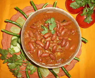 Paramita's  Kitchen:   Rajma  Masala  Recipe  / Kidney  beans Curry  Recipe