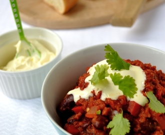 Chili sin carne                     vegan
