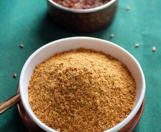 Flax Seeds Podi Recipe | Flax Seed Chutney Powder