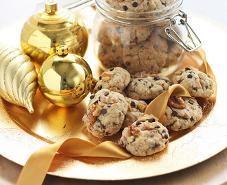 Cookies in a jar - biscotti nel barattolo
