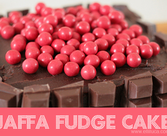※ Jaffa Fudge Cake