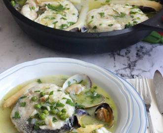 Recetas de como cocinar almejas congeladas mytaste for Cocinar merluza a la vasca