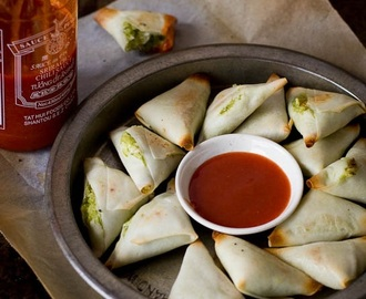 5 Ingredients: Coconut and Edamame Samosas