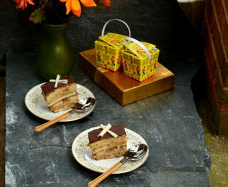 Opera Cake - French Pastry - Baking Partners