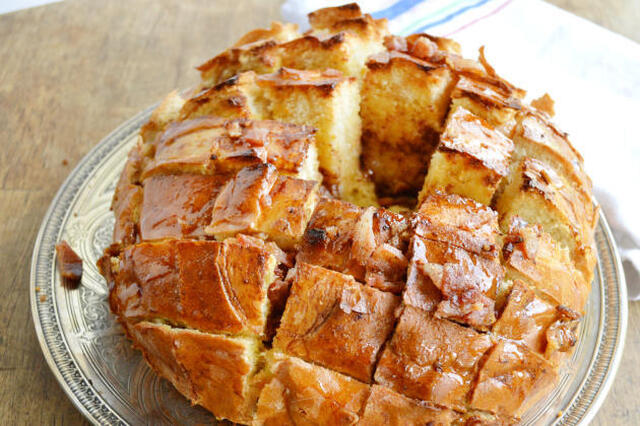 Maple Bacon Pull Apart Bread